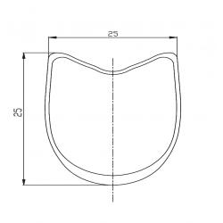 Hub TUNE Mag 170 engraved DUKE