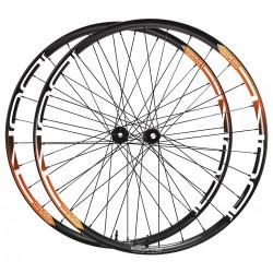 DUKE Wheelset Baccara 25T / Acros nineteen RD
