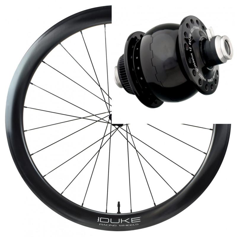 Paire de roues DUKE Baccara 35C / Hope Pro RS4