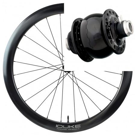 Paire de roues DUKE Baccara 3k 35C / Hope Pro RS4