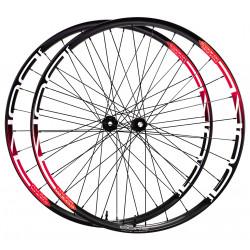 Paire de roues DUKE Baccara 45T / Hope Pro RS4
