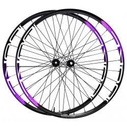 Paire de roues DUKE Baccara 45C disc / Acros nineteen RD SP Disc