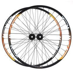 Paire de roues DUKE Baccara 45T disc / Hope Pro RS4 CL