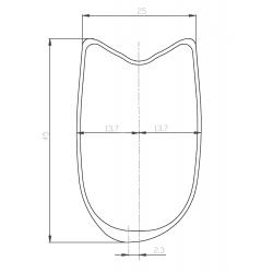 Paire de roues DUKE Cross Runner disc / Hope Pro RS4 CL