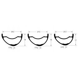KinLin XR-200 Wheelset / Acros nineteen RD