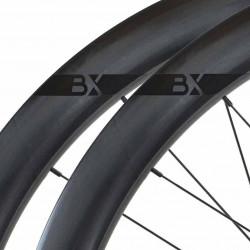 Paire de roues DUKE Baccara 3k 25C Disc / Novatec