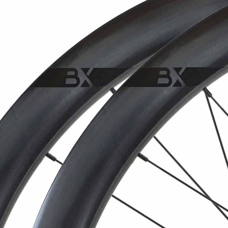 Paire de roues DUKE Baccara 25C Disc / Novatec