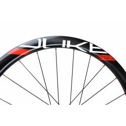 Paire de roues DUKE Baccara 45T Disc / Novatec