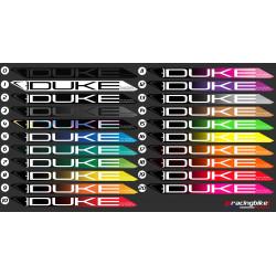Paire de roues DUKE Baccara 88C / Tune