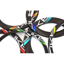 Front road tubular wheel with TUNE hub