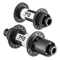 Rear road clincher wheel with ACROS nineteen RD hub