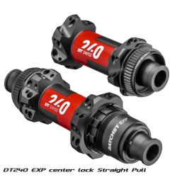 Rear road clincher wheel with TUNE hub