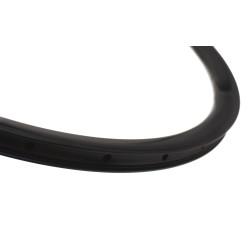 Rear road tubular wheel with Novatec hub