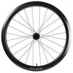 Rear road tubular wheel with ACROS nineteen RD SP hub