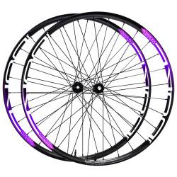 Rear disc road clincher wheel with Novatec hub