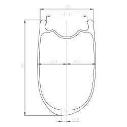Paire de roues VAE Notubes ZTR Arch MK3 / Hope Pro4