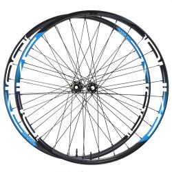 Rear disc road tubular wheel with ACROS nineteen RD disc hub