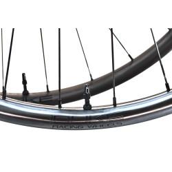 Rear road clincher wheel with Powertap G3 hub
