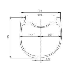 Sapim Cx-Ray spoke J-Bend (J) red